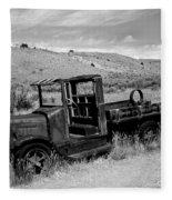 1920's International Truck Fleece Blanket