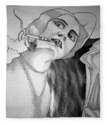 1920s Women Series 12 Fleece Blanket