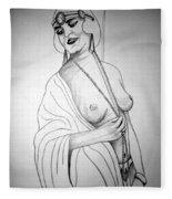 1920s Women Series 13 Fleece Blanket