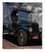 1923 Model T Ford Truck Fleece Blanket