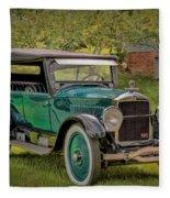 1923 Studebaker Big Six Touring Car Fleece Blanket