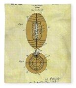1925 Football Patent Fleece Blanket