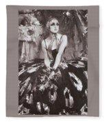 1925 Nikolay Feshin Fleece Blanket