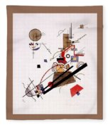 1925 Vasily Kandinsky Fleece Blanket