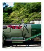1926 Bentley Automobile Fleece Blanket