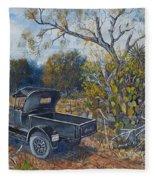 1926 Ford Truck Fleece Blanket