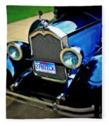 1927 Blue Buick Fleece Blanket