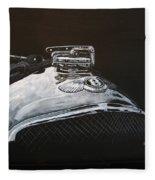 1928 Bentley Rad Cap Fleece Blanket