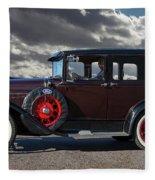 Classic 4 Door Ford Fleece Blanket