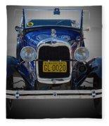 1929 Model A Ford Convertible Fleece Blanket