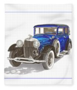 1930 Lincoln L Berline Fleece Blanket