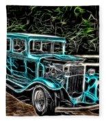 1931 Chevy Hot Rod  Fleece Blanket