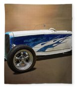 1931 Ford Convertible Hot Rod Fleece Blanket