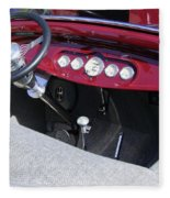 1931 Ford Dashboard Fleece Blanket