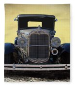 1931 Ford Model A Coupe Fleece Blanket