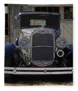 1931 Ford Model A Roadster Fleece Blanket