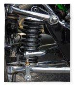 1931 Ford Roadster Suspension Fleece Blanket