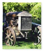 1931 Fordson Tractor Fleece Blanket