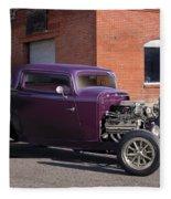 1932 Ford 'grape Soda' Coupe Fleece Blanket