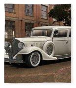 1933 Buick Victoria 'bootleg Beauty' Fleece Blanket