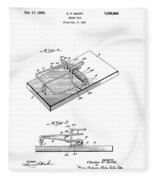 1933 Mouse Trap Fleece Blanket