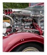 1934 Chevy Truck Motor Fleece Blanket