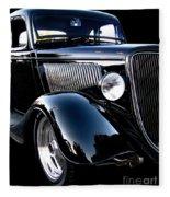 1934 Ford Coupe Fleece Blanket