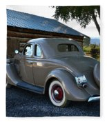 1935 Ford Coupe Fleece Blanket