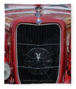 1935 Ford Seagrave Fleece Blanket