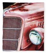 1935 Ford Sedan Hood Fleece Blanket