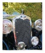 1935 Triumph Southern Cross Front Grill Fleece Blanket
