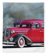 1936 Chevrolet Master Deluxe Sedan Fleece Blanket