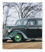 1936 Ford Deluxe Sedan I Fleece Blanket