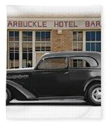 1936 Plymouth Business Coupe II Fleece Blanket