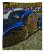 1937 Bugatti Type 57 S C Atalante Coupe Fleece Blanket