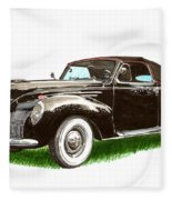 1937 Lincoln Zephyer Fleece Blanket