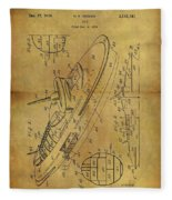 1938 Battleship Patent Fleece Blanket