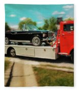 1938 Studebaker Cab Over Fleece Blanket