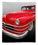 1940s Custom Chrysler New Yorker In Red Fleece Blanket