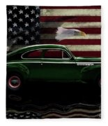 1941 Buick Century Tribute Fleece Blanket