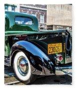 1941 Chevy Truck Fleece Blanket