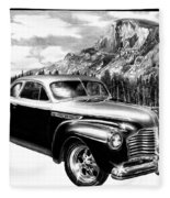 1941 Roadmaster - Half Dome Fleece Blanket