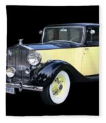 1941 Rolls-royce Phantom I I I  Fleece Blanket