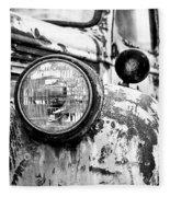 1946 Chevy Work Truck - Headlight Detail Fleece Blanket