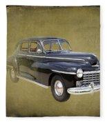 1946 Dodge D24c Sedan Fleece Blanket