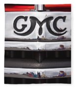 1946 Gmc Truck Grill 2 Fleece Blanket
