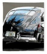1948 Fastback Cadillac Fleece Blanket