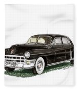 1949 Cadillac Fleetwood Sedan Fleece Blanket
