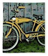 1949 Shelby Donald Duck Bike Fleece Blanket