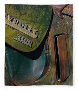 1950 Chevrolet Pickup Truck Emblem Fleece Blanket